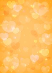 light heart bokeh for love background