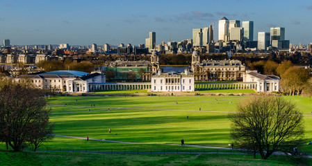 London, Panorama from Greenwich