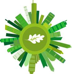 Umweltfreundliches Wachstum, Vektor