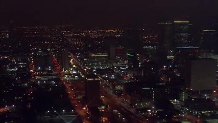 Houston Skyline Highways