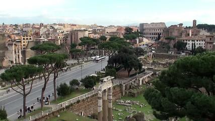 Roman Forum & Via dei Fori Imperiali, Rome