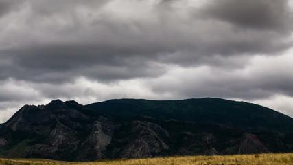 Mountains of the Kazakhstan, TimeLapse 4K, UHD
