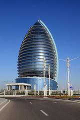 Ashgabat, Turkmenistan -  Modern architecture.
