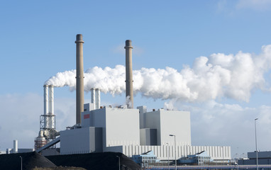 pollution frm power plant in holland