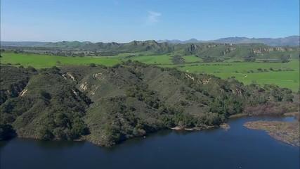 California Trees Mountains Meadow