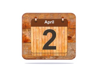 April 2.