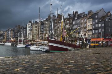 Vieux port d'Honfleur Normandie