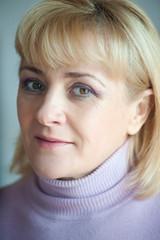 Portrait of a pretty blond