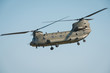 Leinwandbild Motiv Chinook helicopter