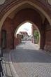 Tangermünde, Blick durch das  Neustädter Tor