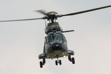 Miltary helicopter