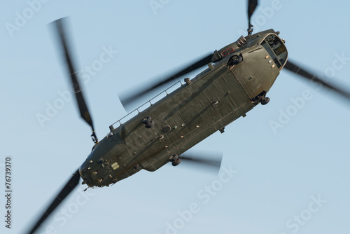 Foto op Plexiglas Helicopter Chinook helicopter