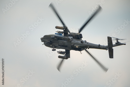 Apache attack helicopter - 76739377