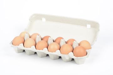 Huevos en cartón