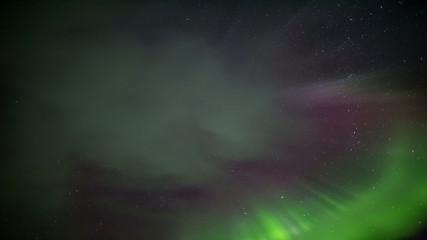 Northern Lights - Solar storm in the Arctic