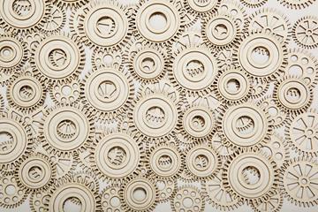 Cogwheel background