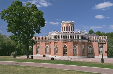 Moscow, Pavilion Third Cavalry Corps in Tsaritsyno