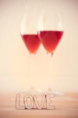 Love and wine: brindisi di san valentino