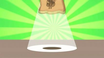 Dancing Money Bag