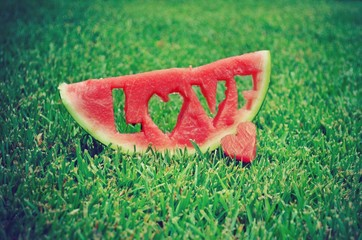 love watermelon
