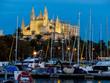 canvas print picture - Spanien, Mallorca, Palma, Kathedrale