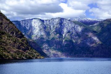 Wonderful landscape in Lysefjord, Norway.