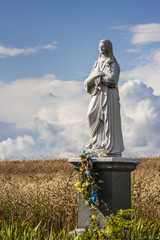 The Blessed Virgin Figurine in the Field