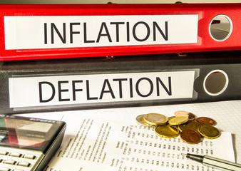 Inflation, Deflation (Geld, Preisentwicklung)