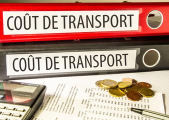 Coût de transport (livraison, transporteur)