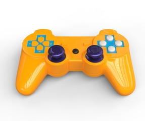 Yellow Game Pad