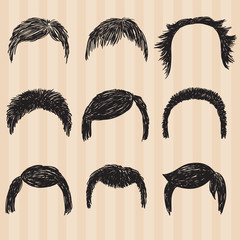 mens  collection for hair styling.