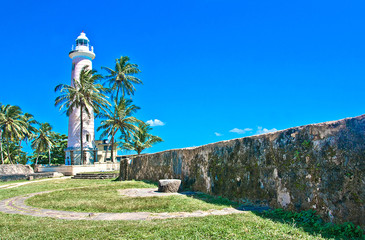 Light House At Galle Dutch Fort , Sri Lanka