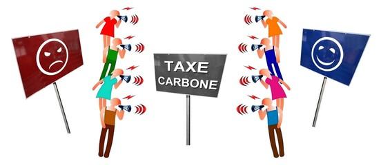 """Débat  """"Taxe carbone:  pour ou contre"""""""