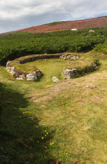 Ty Mawr Ancient Hut Circle on Holyhead, Anglesey