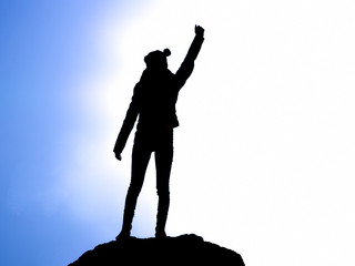 victory silhouette