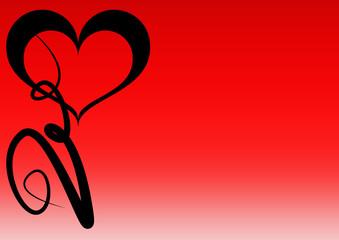Herz - Valentinstag - Hochzeit