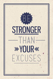 Fototapety Vintage motivational  quote poster