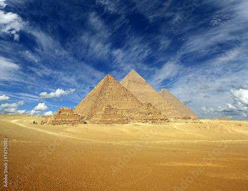 Papiers peints Egypte Great pyramids in Egypt