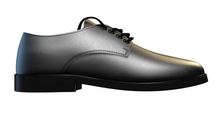 Formal Black Leather Shoe