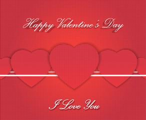 Retro Happy Valentines Day cards