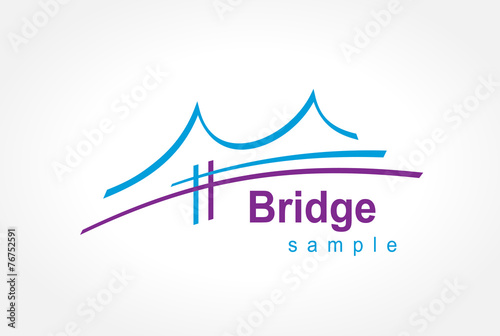 bridge symbol emblem sign - 76752591