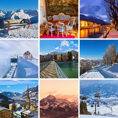 Collage of Austria images