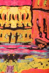 Multicolor cashmere