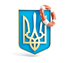 emblem of ukraine lifebuoy on a white background.jpg