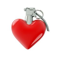 Heart Shaped Grenade
