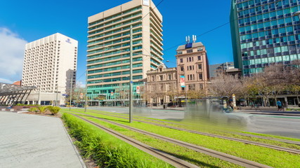Timelapse video of downtown Adelaide, South Australia