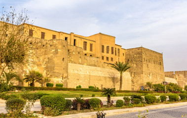 Walls of the Saladin Citadel of Cairo - Egypt