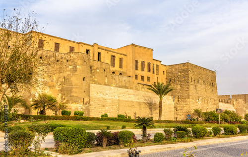 Poster Walls of the Saladin Citadel of Cairo - Egypt