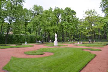 Summer Garden in St.Petersburg.