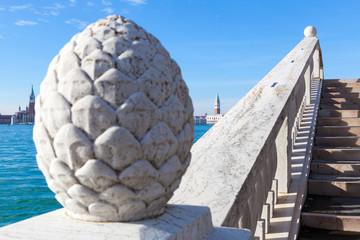 Campanile di San Marco, Venezia. Vista dall'arsenale